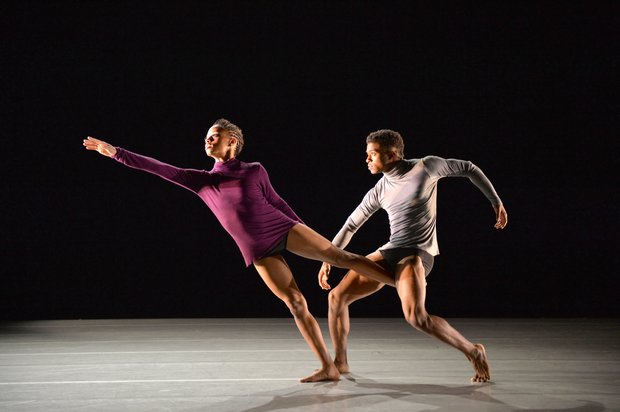 Ailey II's Shay Bland and Terrell Spence in Manuel Vignoulle's Breakthrough.