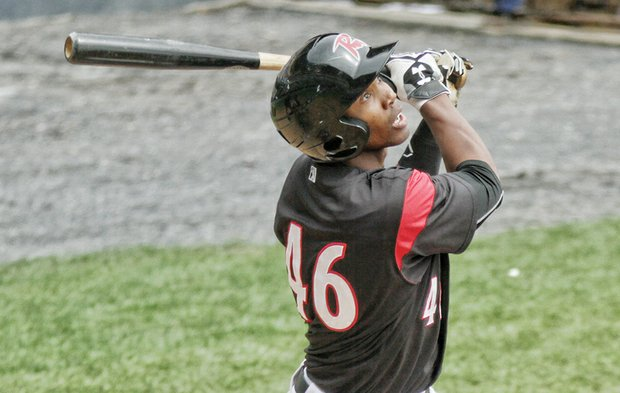 Flying Squirrels switch-hitting left-fielder Daniel Carbonell is a prized prospect by the parent club San Francisco Giants.