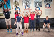 """Children from Cummings Elementary in Alief ISD are ready to hit the stage in May with their performance of """"That's Classic!"""" at the Hobby Center."""