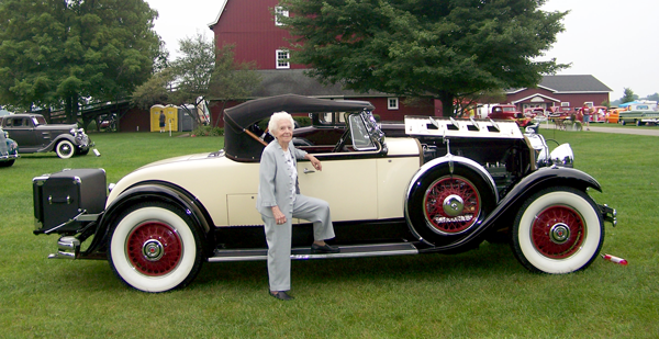 Meet Margaret Dunning 104 yr old Packard owner who grew up next door to the Henry Ford family.