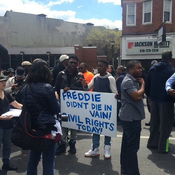 Community leaders advocate for calm in Baltimore as the city moves forward and peaceful protests take place.