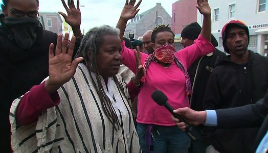 Please, not even a demonstration. Freddie Gray's family had asked there be quiet on Baltimore's streets the day they laid ...