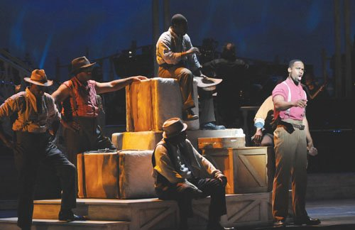 "The curtain is opening for Portland Opera's production of ""Show Boat,"" the award-winning Harold Prince version of the epic play ..."