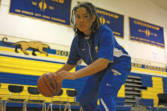 Avrie Blackwell's calendar is pretty full. She is the captain of Crenshaw High School's girl's basketball team. She is also ...