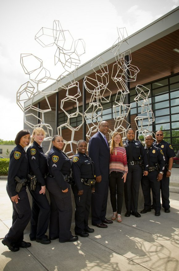 On Tuesday, May 5, civic leaders and community members celebrated Houston artist Tara Conley's permanent installation of 35 sculptures at ...