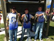 The Joliet Central team of Sean Cook, Tommy Zobel and John Murphy took 1st place in the sectionals on May 1 and qualified for the IHSA State Tournament May 14 to 16.