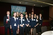 The 13 Joliet West students to participate in the HOSA competition are (front row, left to right) Kyle Garner, Andrea Marquez, Jasmine Candelas, Cynthia Mireles, Izar Olivares, JulieAnne Tirado, Jocelyn Rios and (back row, left to right) Holly Nies, Kevin Mendoza, Waleed Sharif, Heenaben Patel, Julio Juarez and Ashana Patel.