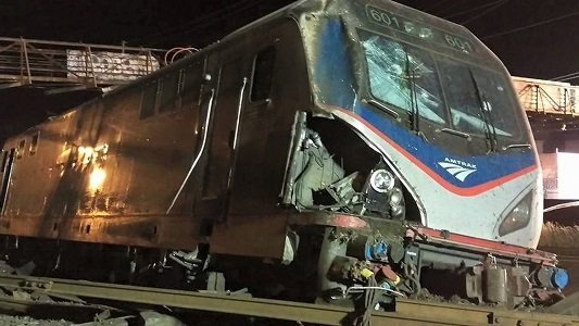A House panel approved a measure Wednesday that cuts funding for Amtrak, less than a day after a train derailment ...