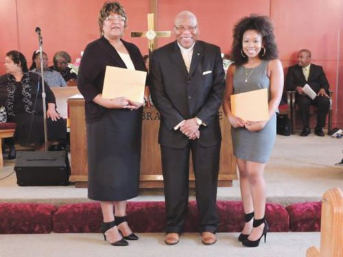 A church scholarship fund that supports African-Americans students has named two local students as award winners for 2015.