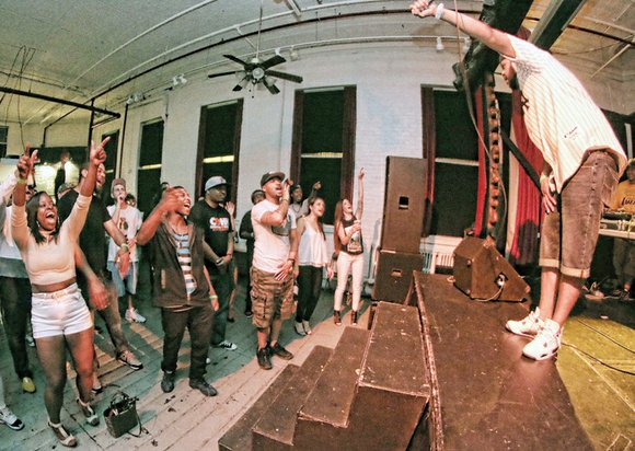 The crowd at Jackson Ward's Gallery 5 was treated to more than a hip-hop concert last Friday as The Cheats ...