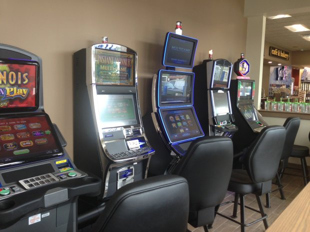 Five video poker machines were added to the Delta Sonic business in order to attract new customers and give people waiting for their cars something to do, site manager Chuck Mikolainis said.