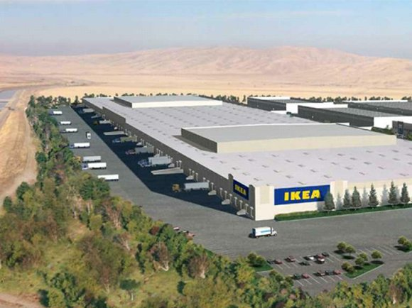 The company announced today that it will build a second distribution center on property just west of the site it ...