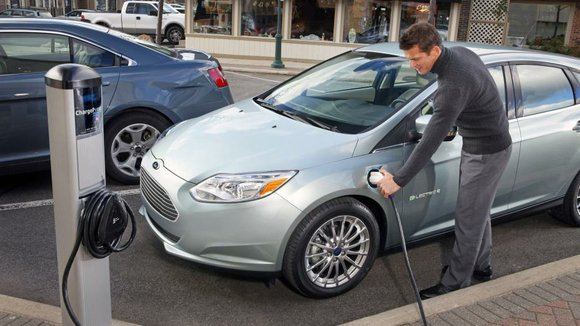 """""""Innovation is our goal,"""" Kevin Layden, director of Ford electrification programs, said in a statement. """"The way to provide the ..."""