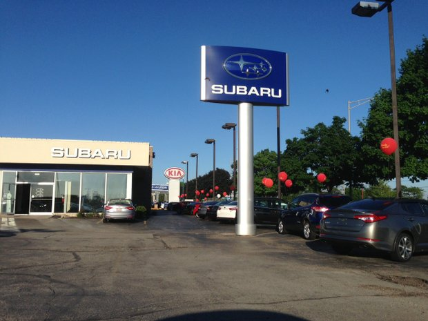 Bill Jacobs Subaru, now renamed Hawk Subaru, is being separated from the Kia dealership at 2525 W. Jefferson St. in Joliet and will be moved to a new location at 2200 W. Jefferson St.