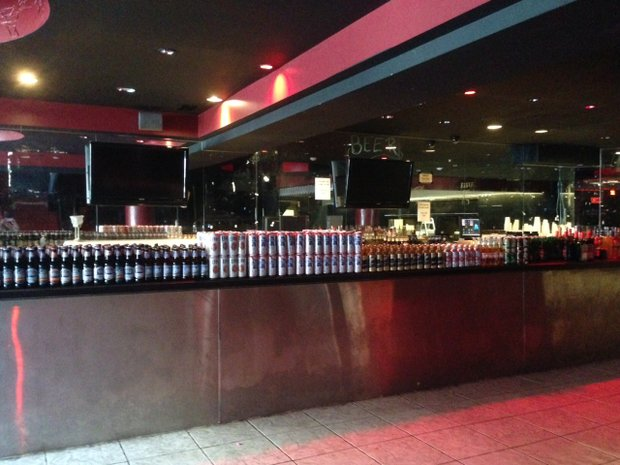 All of the assets Chris Triebes owns as part of the Mojoes music venue, including table, chairs and liquor, are being sold as he divests himself of the downtown Joliet club.