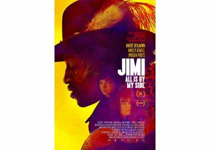 """June is Black Music Month and what better way to celebrate than by watching """"Jimi: All is by my Side,"""" ..."""