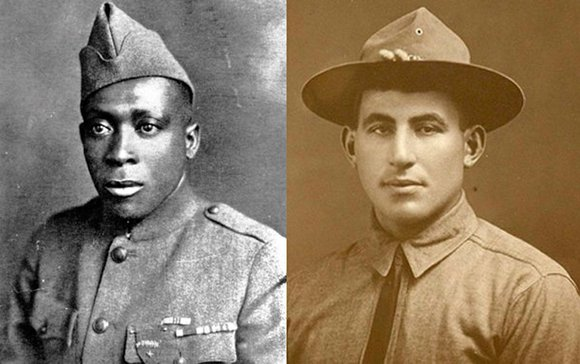 President Obama on Tuesday awarded posthumous Medals of Honor to two soldiers from World War I, one an African-American and ...
