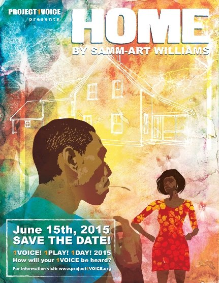 The Ensemble Theatre joins National Stage Reading of Home, by Samm-Art Williams, directed by Eileen J. Morris, and featuring Braodway ...