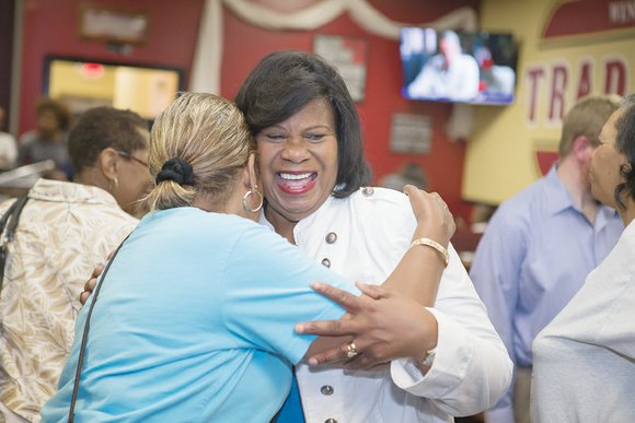 Female political power was on display in Tuesday's primary elections in the Richmond area. In separate Democratic and Republican party ...