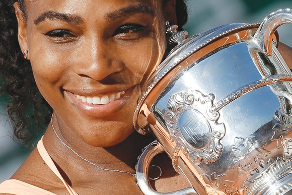 Nothing, absolutely nothing, could stop Serena Williams from winning her 20th grand slam singles title. She joyously bounced around in ...