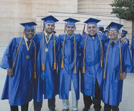 For the eighth consecutive year, each graduating senior at Verbum Dei High in Watts has been accepted into a four-year ...