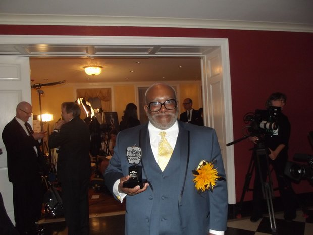 Corey Mitchell, the history-making winner of the first Tony Award for Excellent in Theatre Education.