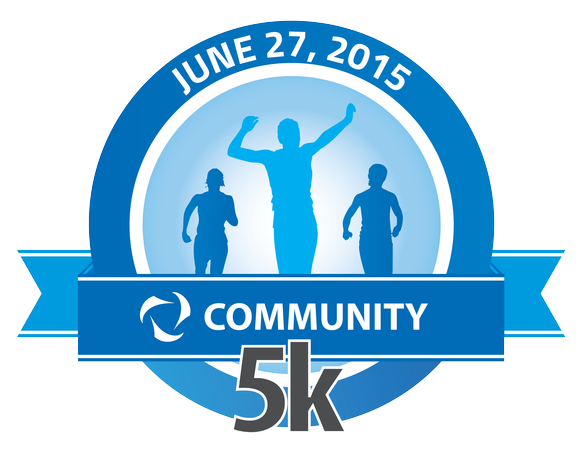 The route for the Community 5k Run will be in and around Settlers' Park and the Wallin Woods subdivision.