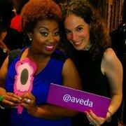 Media Personality Antrechelle and Aveda's Heather Kleinert
