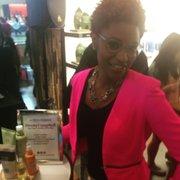Essence Hair &Beauty Editor Deena Campbell