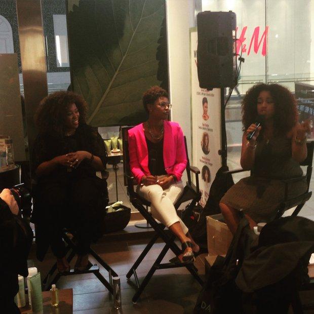 Discussion Panel :Tippi Shorter, Deena campbell, Monica Stevens