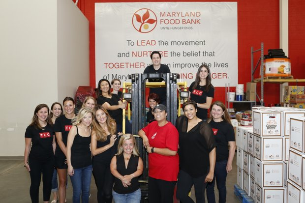 TLC talent and employees packaged more than 6,000 pounds of food at the Maryland Food Bank