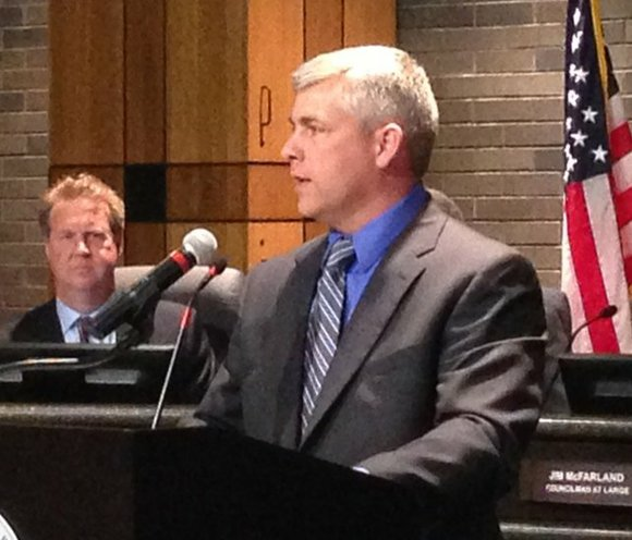 Joliet Mayor Bob O'Dekirk proposed taking a more active role in dispelling rumors that the city has any back room ...