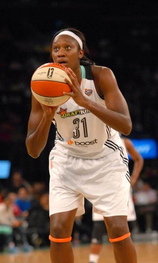 Tina Charles is hoping her team begins to win together.