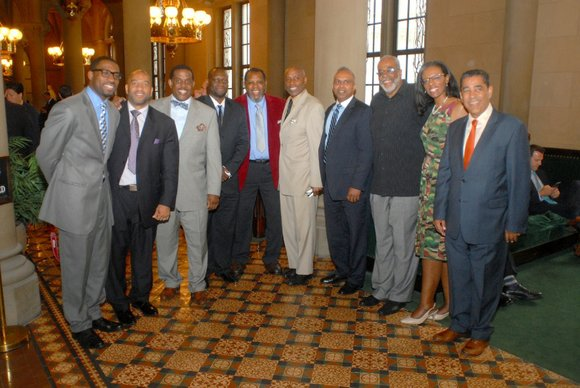 I rise today to honor the memory of Holcombe Rucker, proud son of Harlem and a true visionary with respect ...