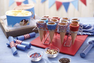 The Wilton Test Kitchen developed these deliciously easy ideas to go with your summer celebration so you can enjoy the ...