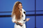 Janet Jackson accepts the inaugural Ultimate Icon