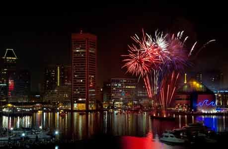 Celebrate the Fourth of July with live music and celebratory fireworks at Baltimore's Inner Harbor. Baltimore's Fourth of July Celebration ...