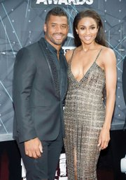 Hip-hop artist Ciara and her boyfriend, Seattle Seahawks quarterback Russell Wilson of Richmond, made their red carpet debut at the BET Awards, wearing coordinated ensembles. During the ceremony, Ciara joined Jason Derulo and Tinashe in a tribute to Janet Jackson.