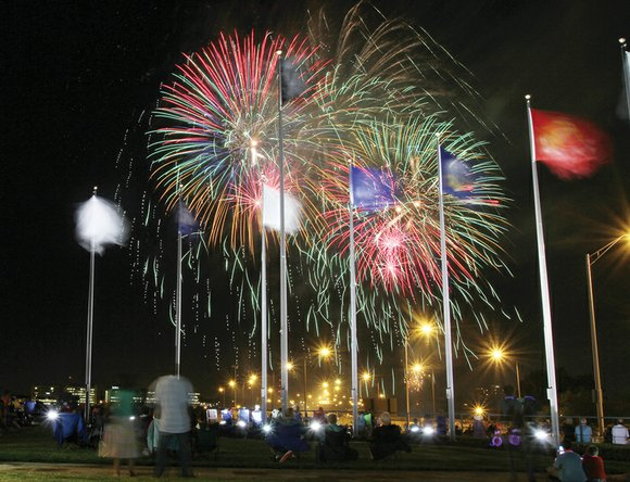 Richmond will have two fireworks shows to celebrate In- dependence Day on July 4th — the city's traditional show in ...