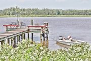 The beauty and tranquility of the 1,200-acre Pamunkey reservation is captured on the banks of the Pamunkey River near the Pamunkey Fish Hatchery.