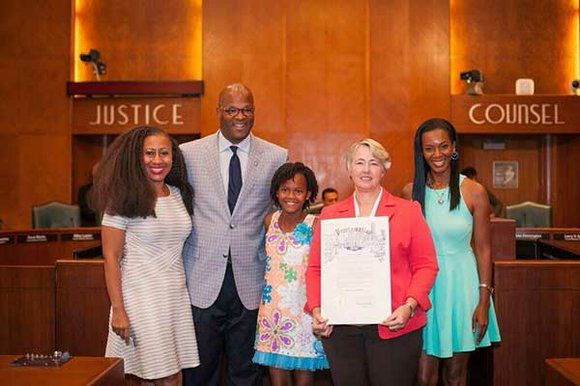 Houston City Council honored 12-year-old Houstonian Princess Jackson for her work with the homeless. For the past three years, Jackson ...
