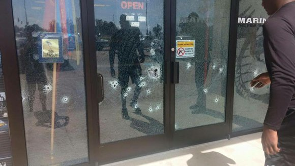 Four people were killed and three were wounded in shootings in Chattanooga, Tennessee, on Thursday
