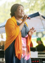 Petula Beckles performs her unique blend of gospel that combines jazz and soul.