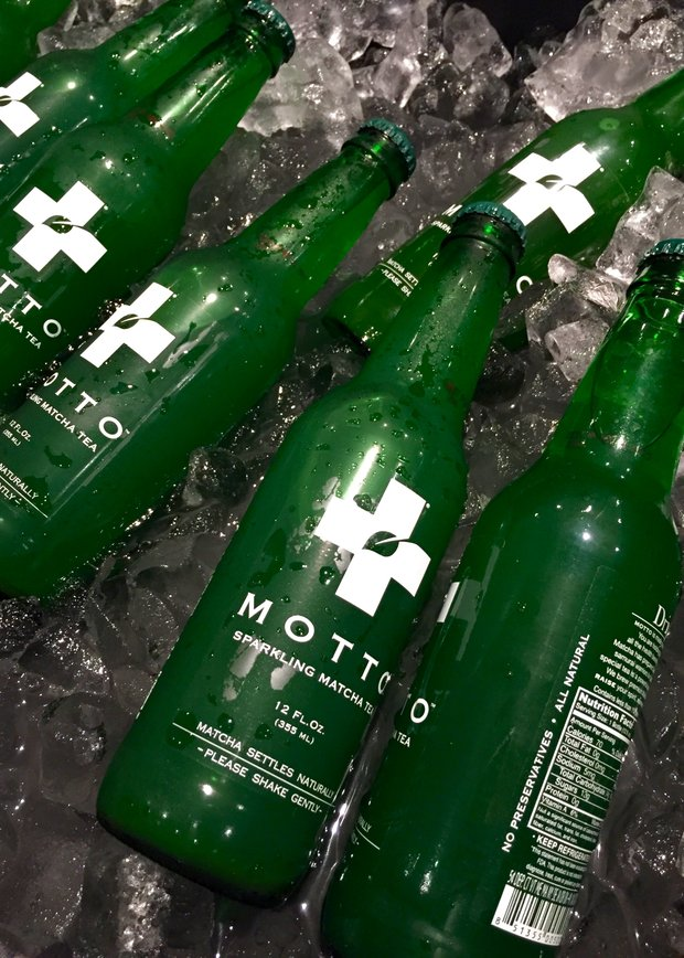 Motto matcha soda