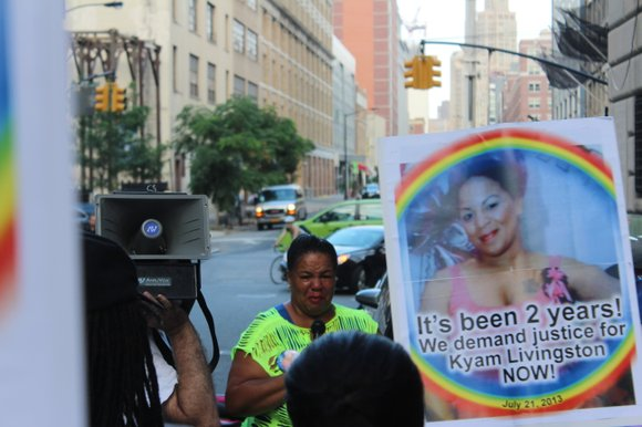 Kyam Livingston pleaded repeatedly for medical attention in the hours before she died in police custody at Brooklyn Central Booking ...