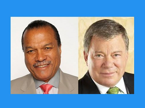 """Legendary Hollywood heartthrob Billy Dee Williams will join """"Star Trek"""" icon William Shatner, aka Capt. James T. Kirk, and other ..."""