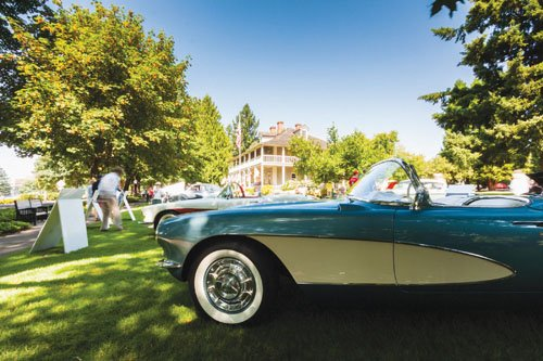 The Columbia River Concours d'Elegance, returns to Vancouver, Sunday, Aug. 2, bringing over 150 restored, classic vehicles to the lawns ...