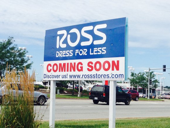 Signs are up but no timetable has been announced for the retail site being planned for North Ridge Plaza on ...