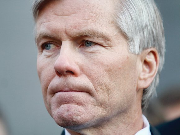 Former Gov. Bob McDonnell remains free on bond after filing a request for the entire 4th U.S. Circuit Court of ...