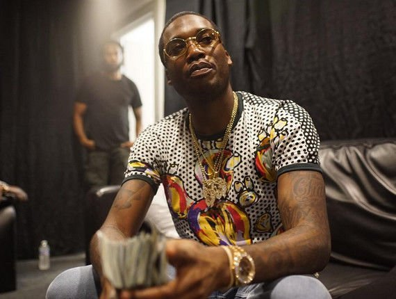 Meek Mill has found a good way to spend time under house arrest.